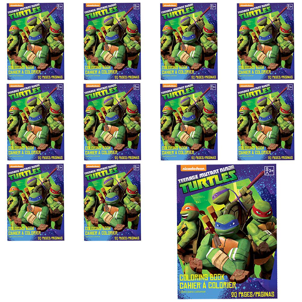 Teenage Mutant Ninja Turtles Coloring Books 48ct | Party City