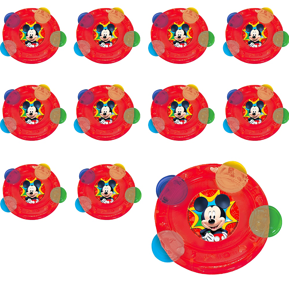 Mickey Mouse Tambourines 24ct Image #1