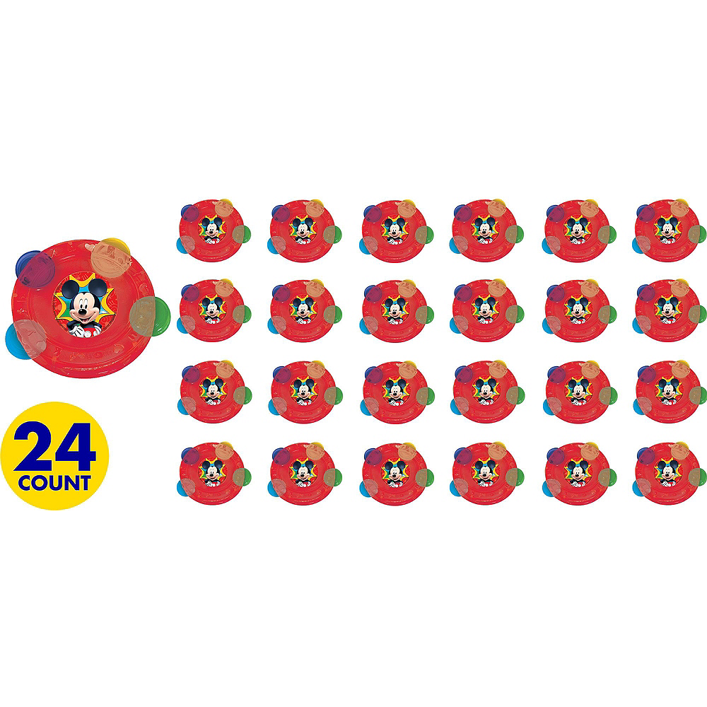 Mickey Mouse Tambourines 24ct Image #2