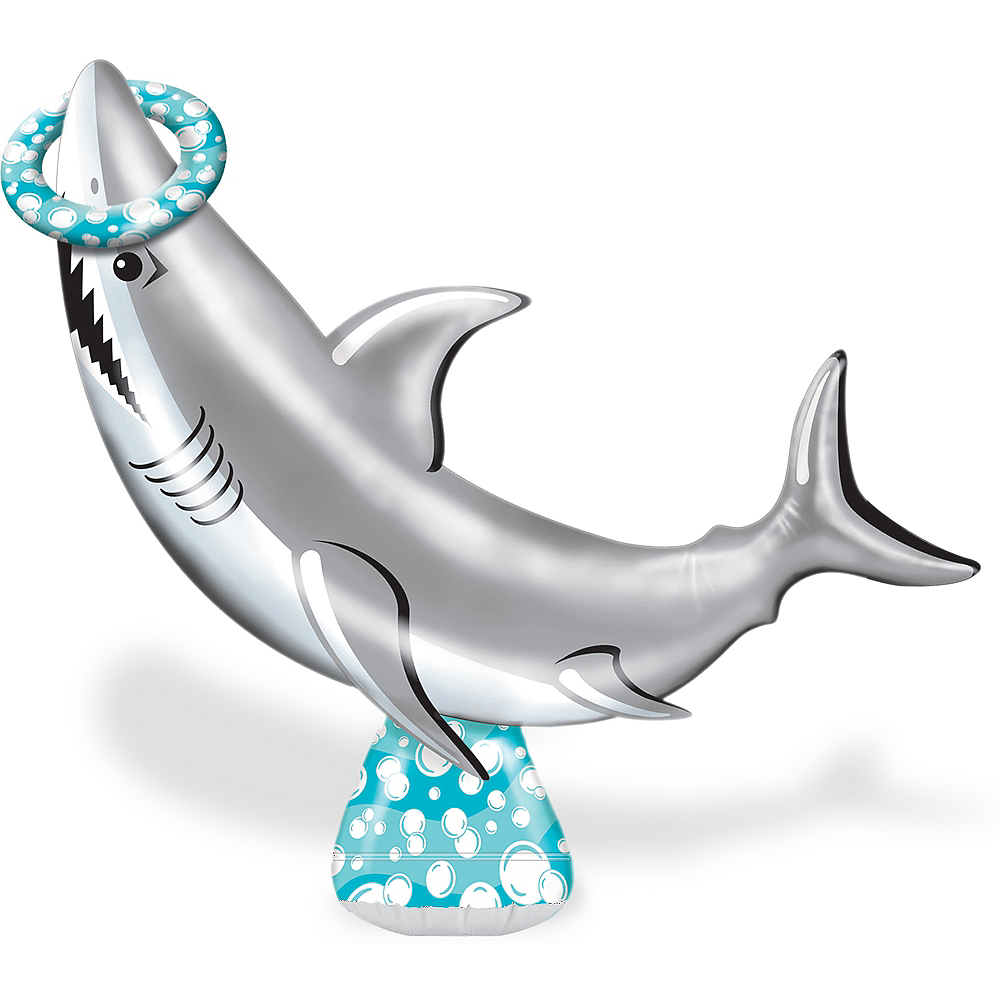 Inflatable Shark Ring Toss Image #1