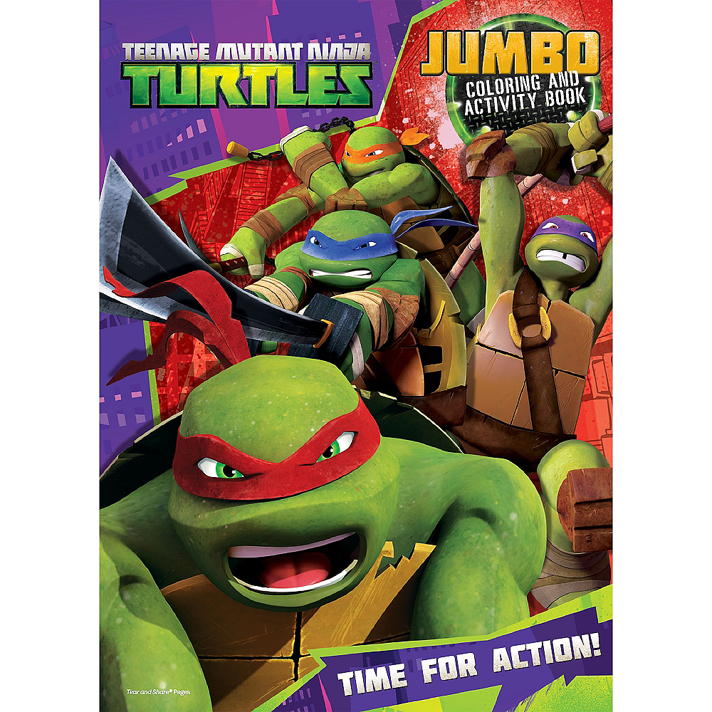 Teenage Mutant Ninja Turtles Coloring & Activity Book | Party City