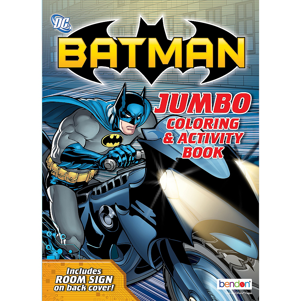 Batman coloring activity book image 1