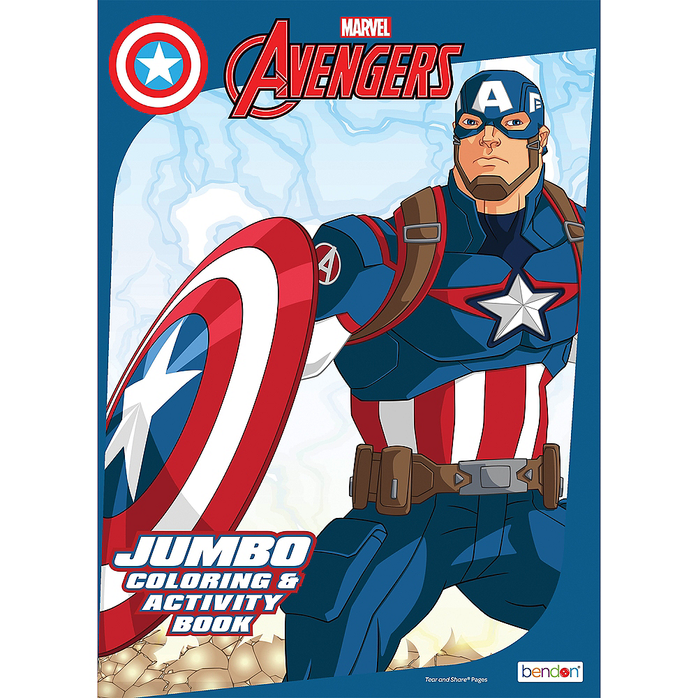 Nav Item for Avengers Coloring & Activity Book Image #1