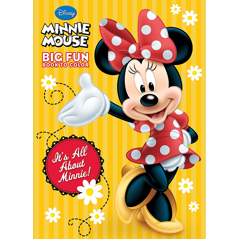 Minnie Mouse Coloring & Activity Book | Party City