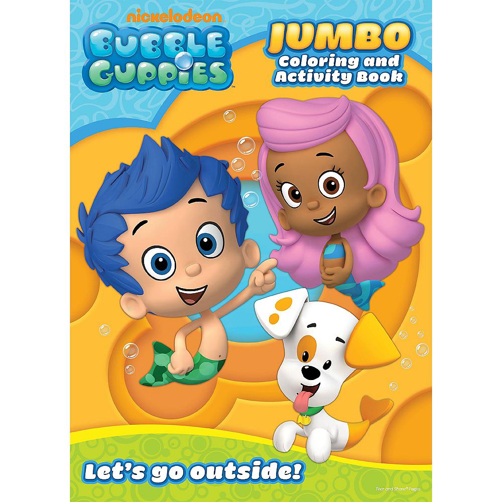 bubble guppies coloring activity book party city