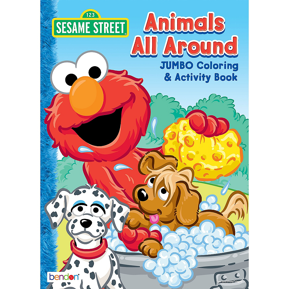 Sesame Street Coloring Activity Book