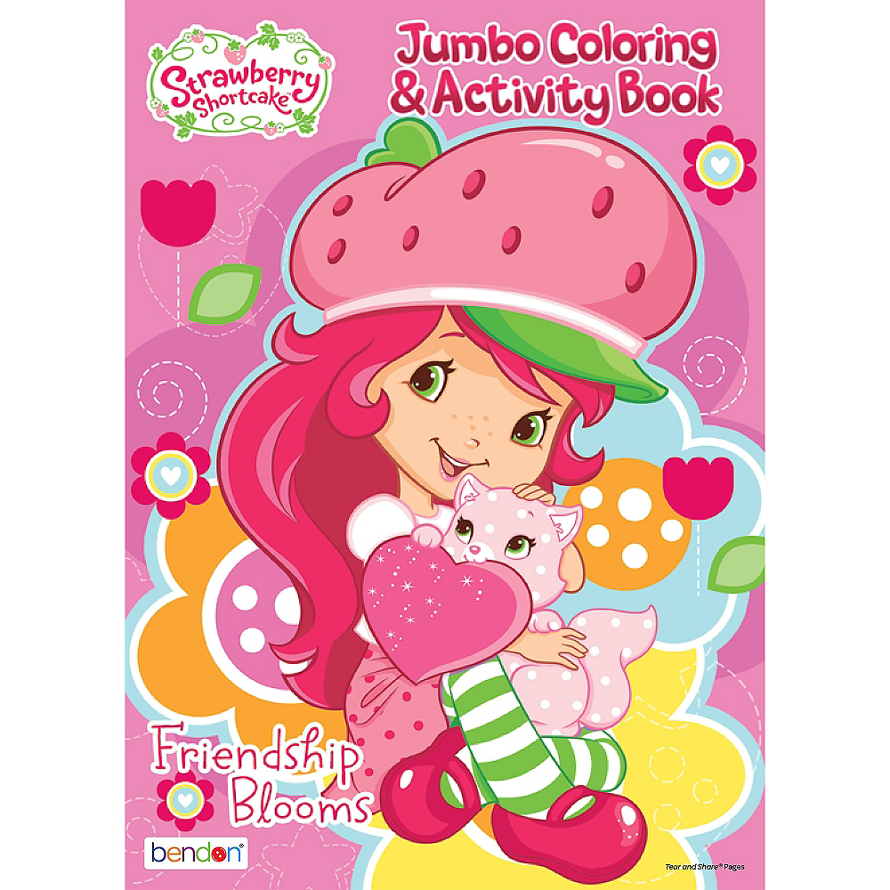 Strawberry Shortcake Coloring & Activity Book | Party City