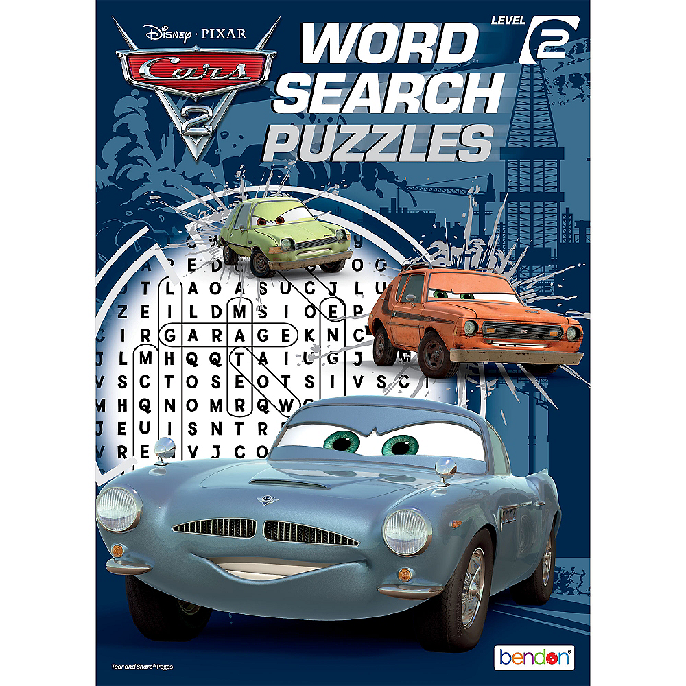 Cars Word Search Book Party City - Classic car search
