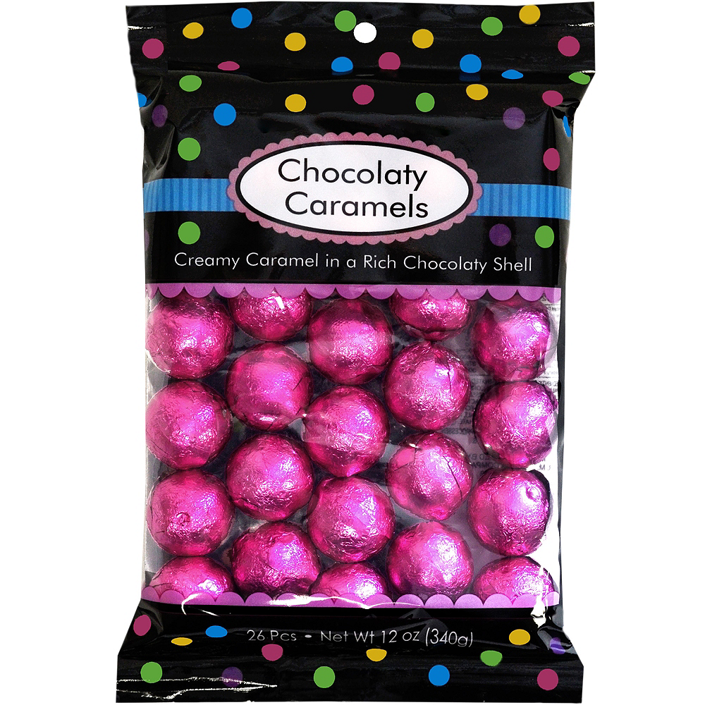 Nav Item for Bright Pink Caramel Balls 26pc Image #1