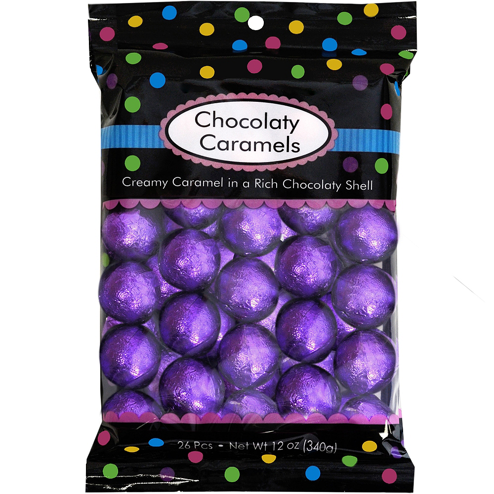Purple Caramel Balls 26pc Image #1