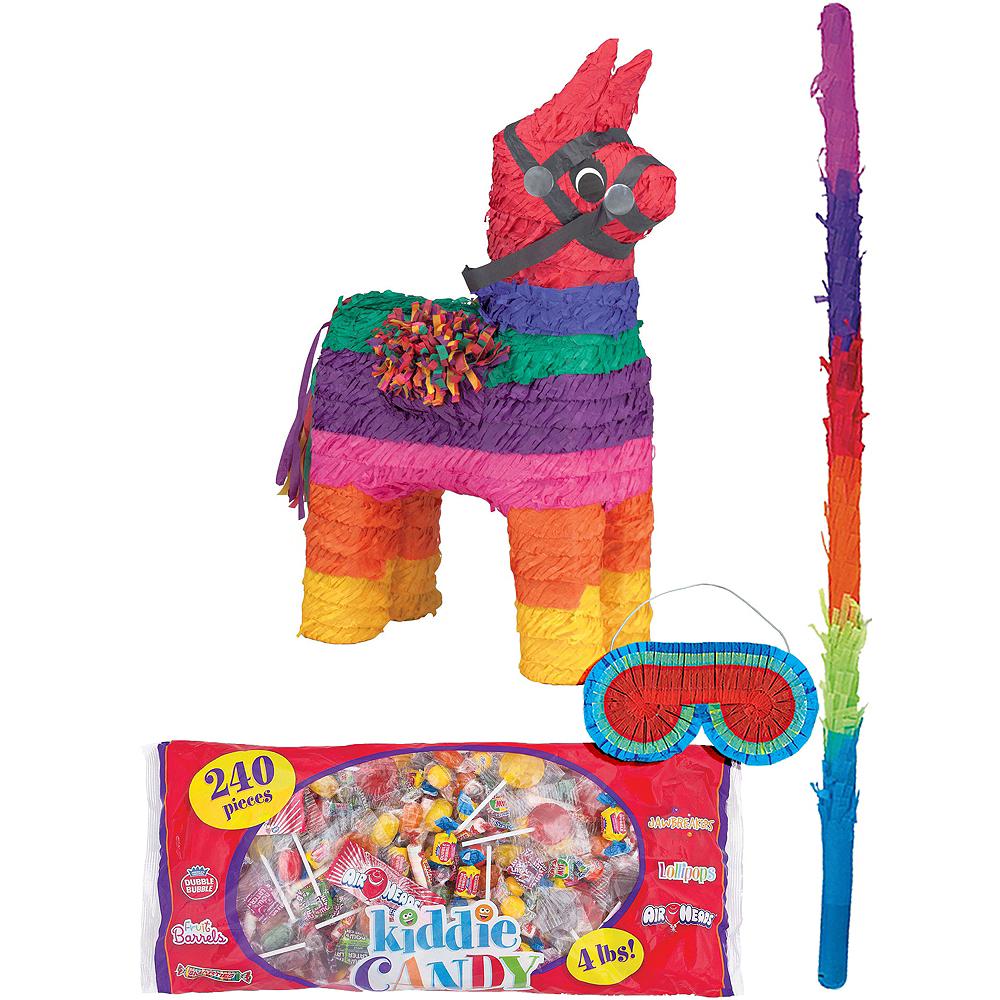 Rainbow Donkey Pinata Kit Image #1