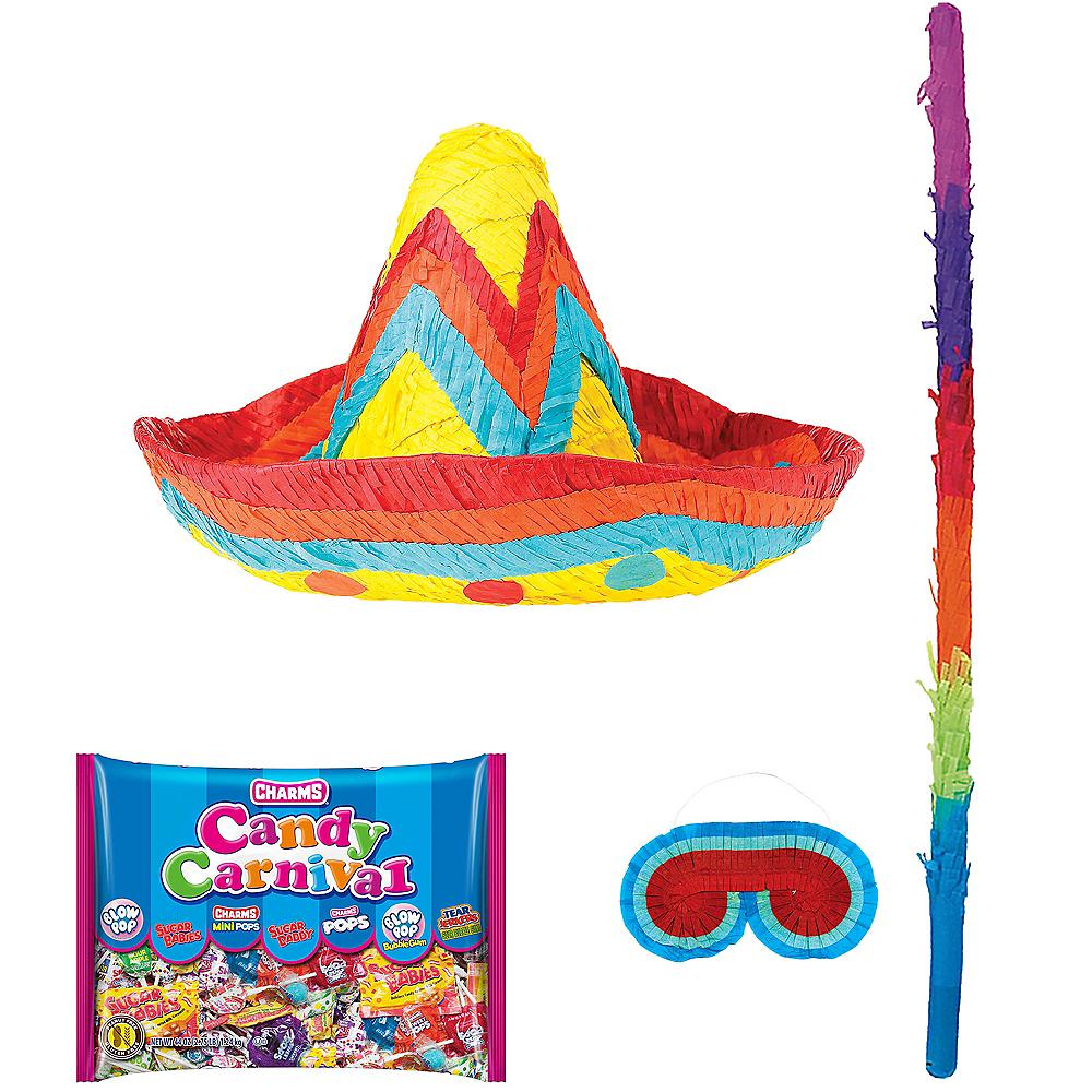 Sombrero Pinata Kit Image #1