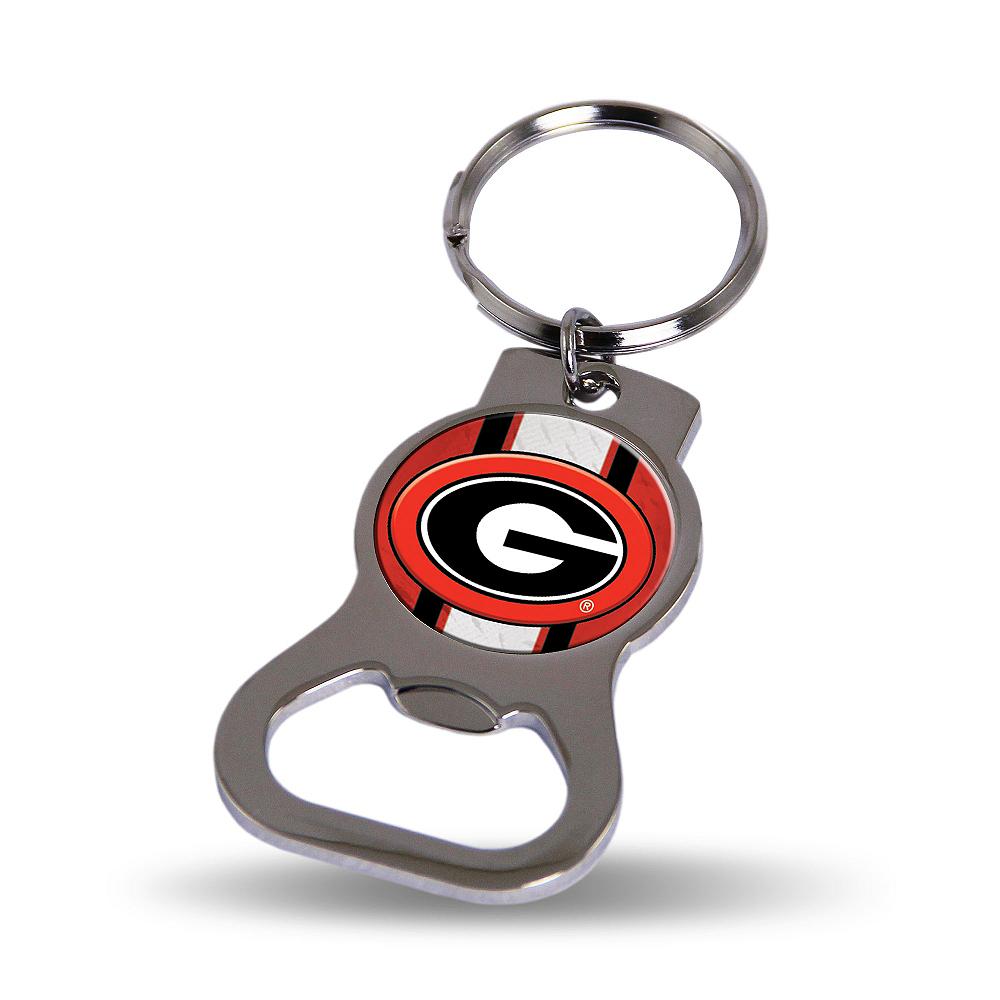 Georgia Bulldogs Bottle Opener Keychain Image #1