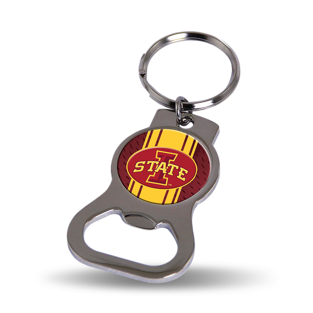 Iowa State Cyclones Bottle Opener Keychain Image #1