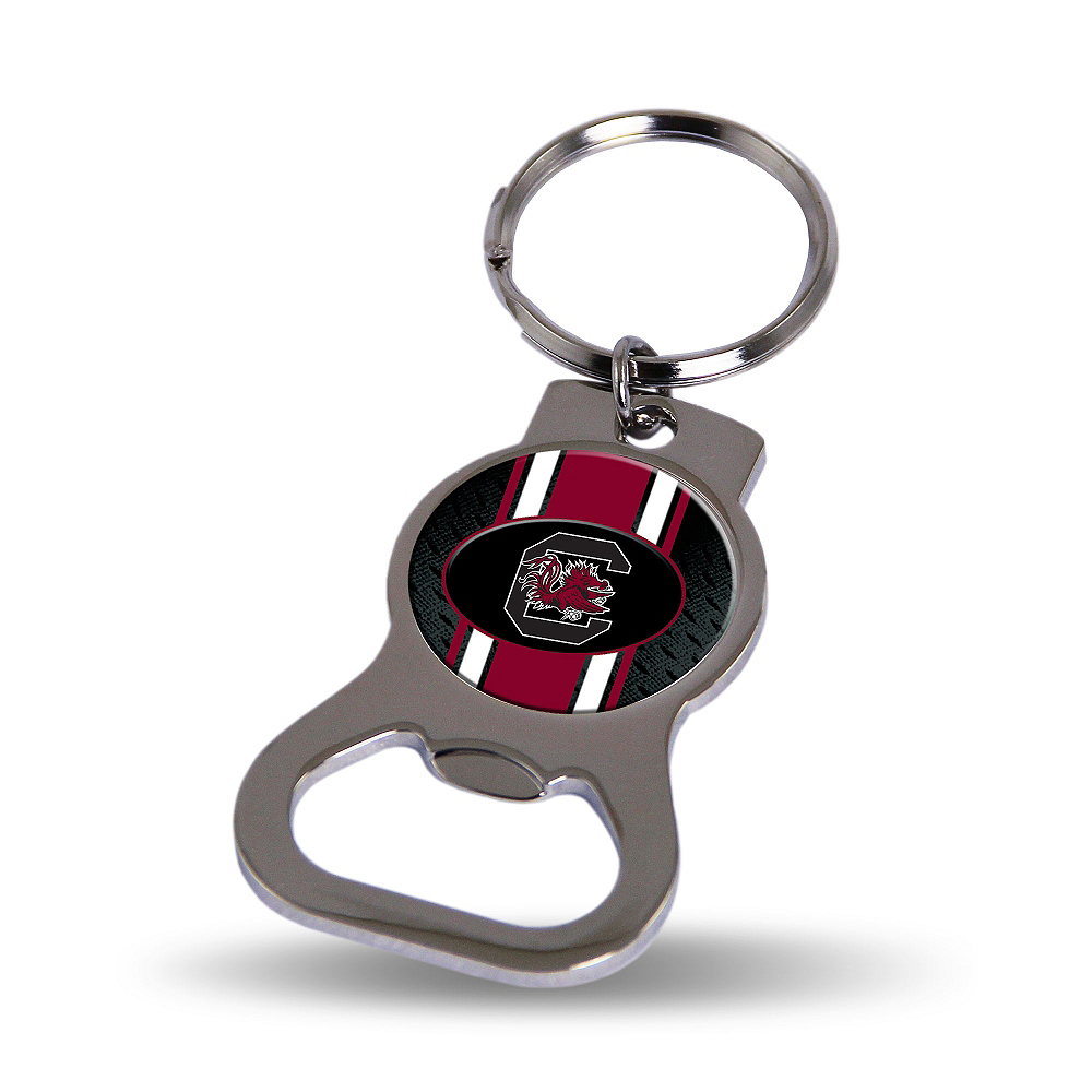 South Carolina Gamecocks Bottle Opener Keychain Image #1