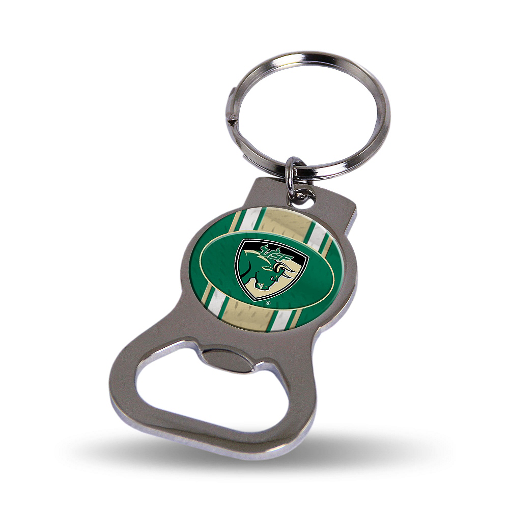 South Florida Bulls Bottle Opener Keychain Image #1