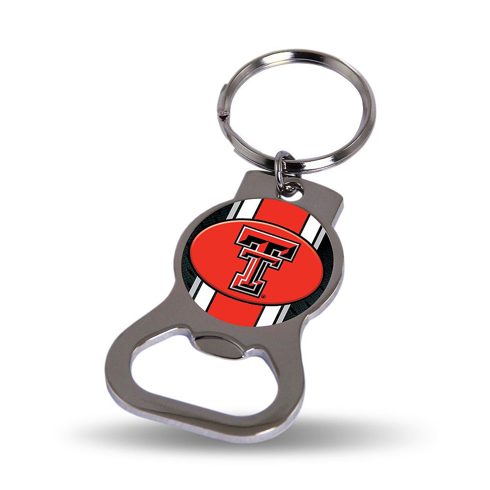 Texas Tech Red Raiders Bottle Opener Keychain Image #1