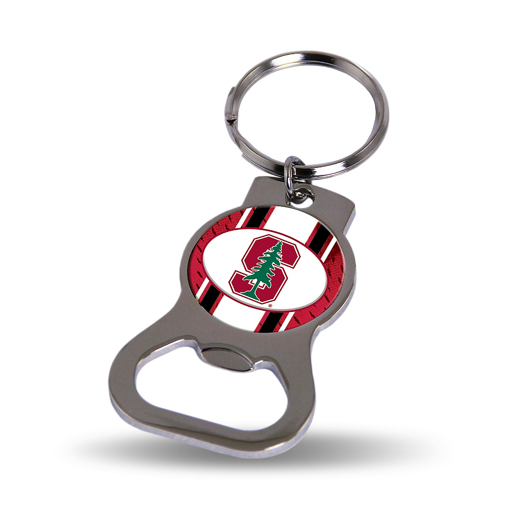 Stanford Cardinal Bottle Opener Keychain Image #1