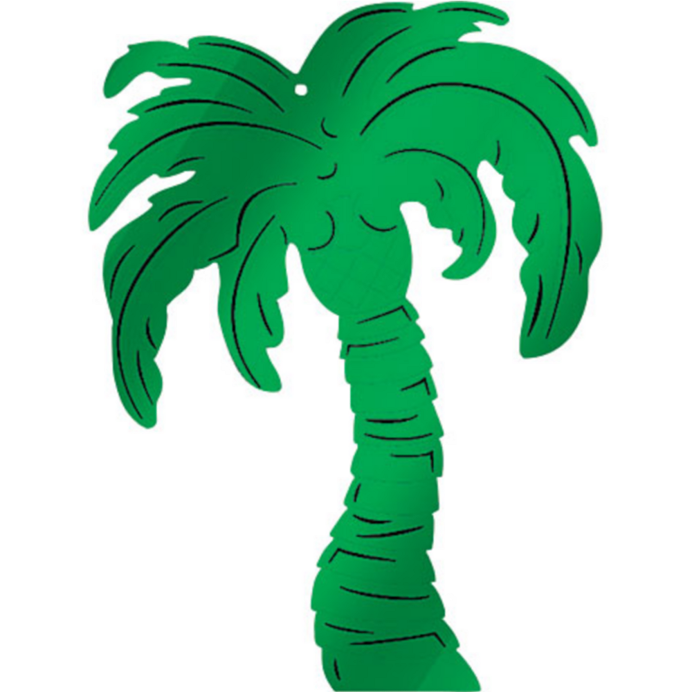 Nav Item for Palm Tree Foil Cutout Image #1