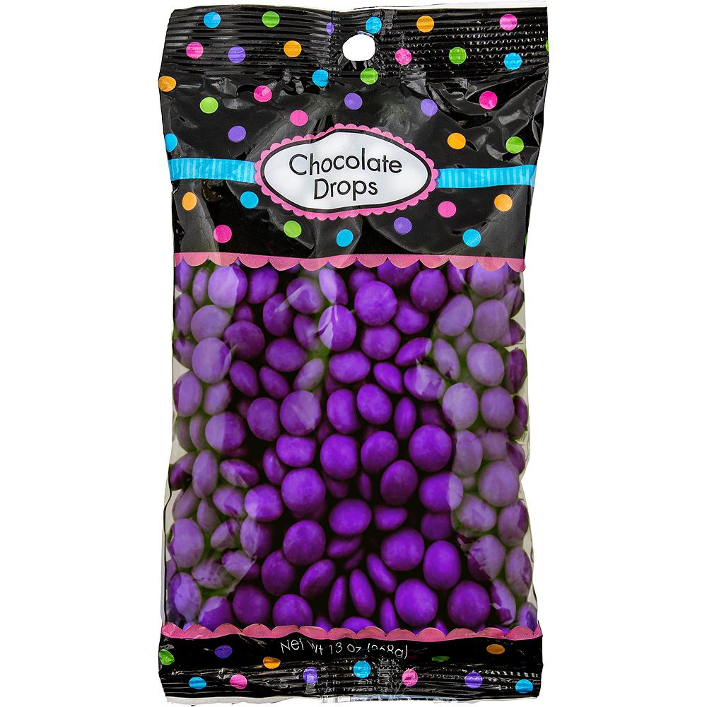 Purple Chocolate Drops 350pc Image #1