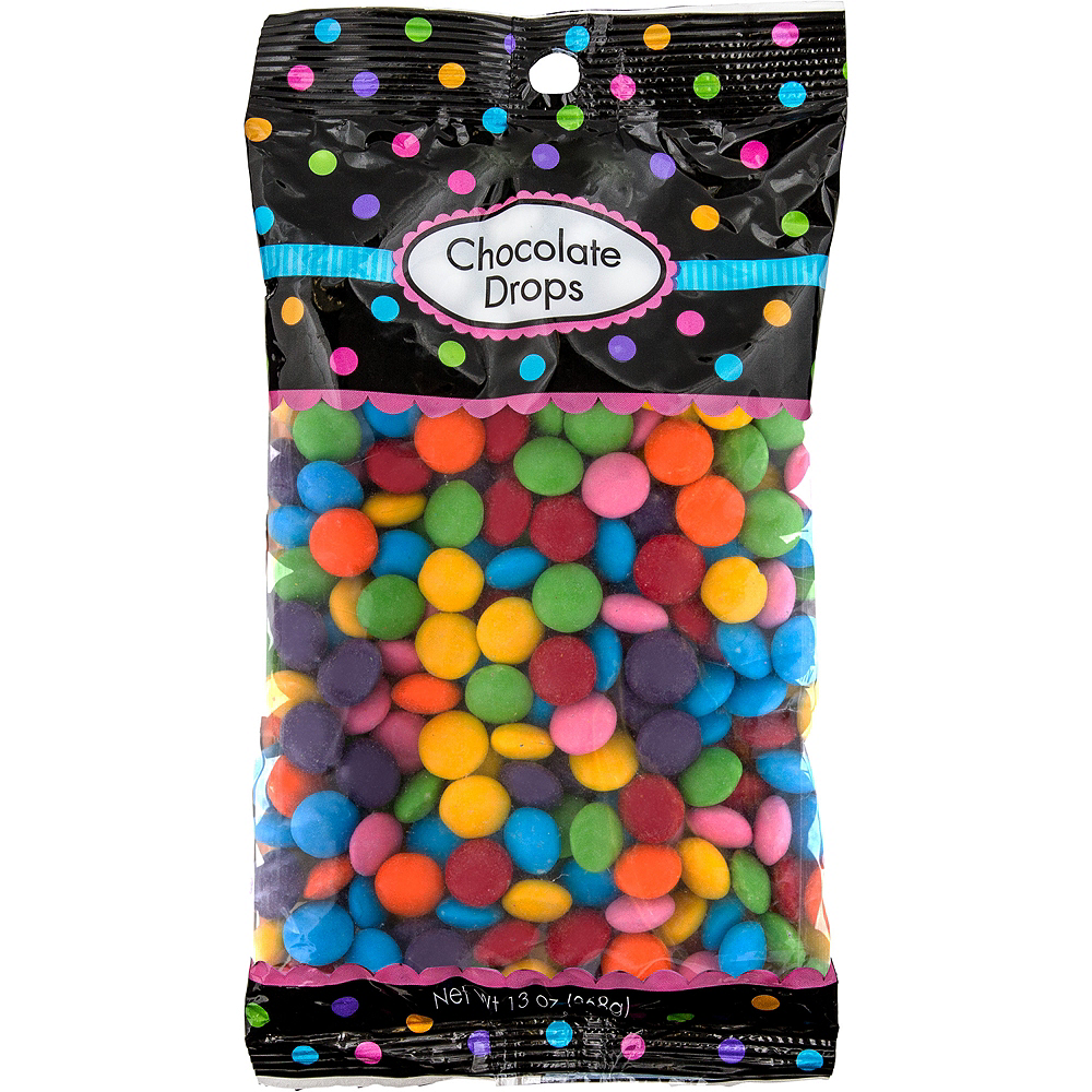 Rainbow Chocolate Drops 350pc Image #1