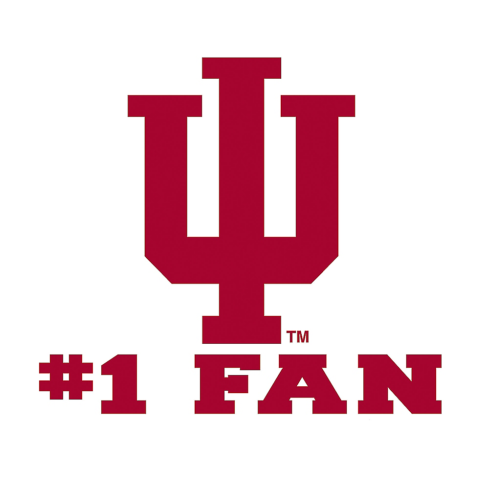 Nav Item for Indiana Hoosiers #1 Fan Decal Image #1