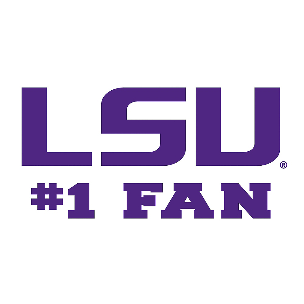 Nav Item for Louisiana State Tigers #1 Fan Decal Image #1