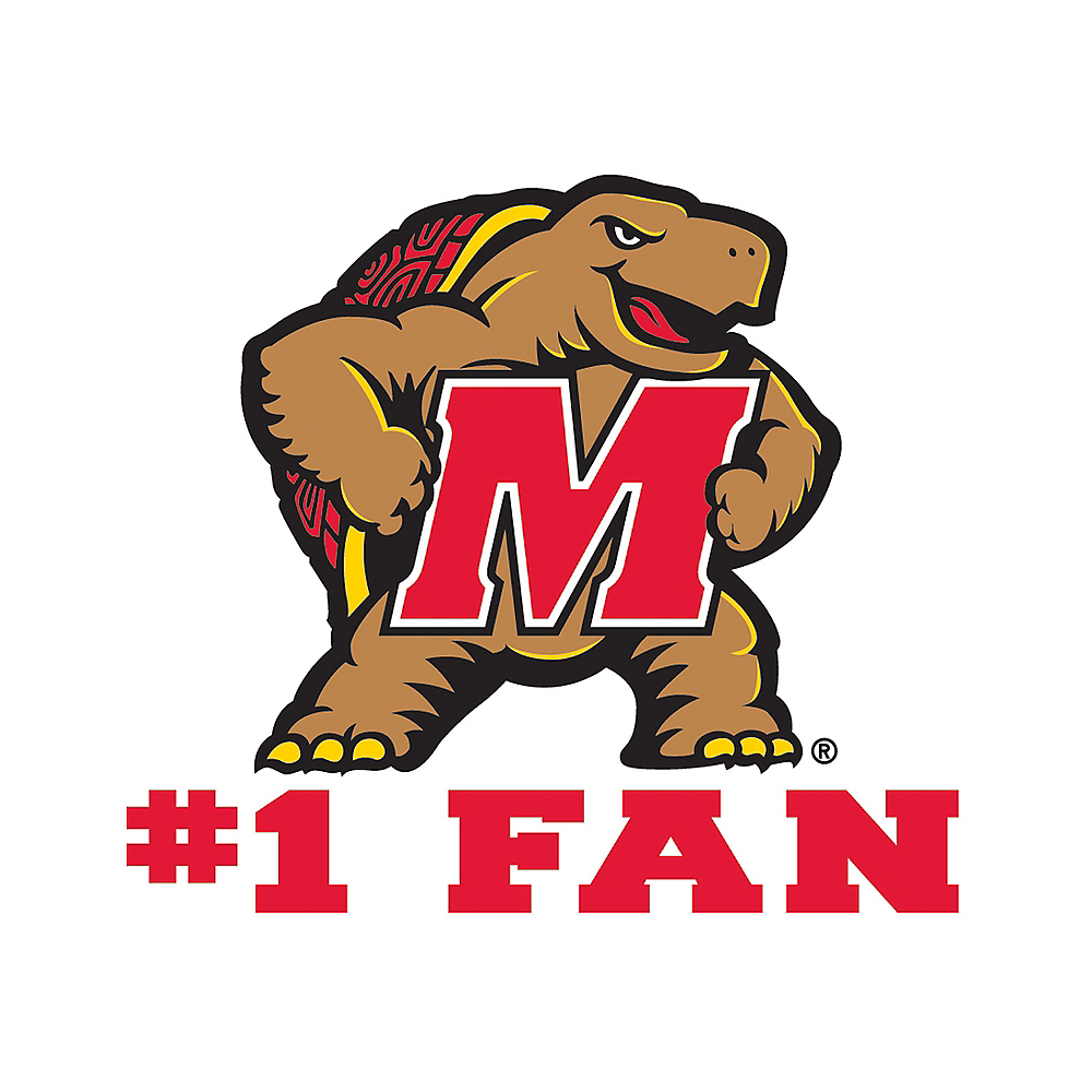 Maryland Terrapins #1 Fan Decal Image #1