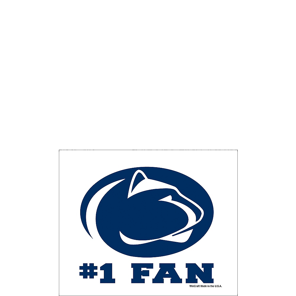 Penn State Nittany Lions #1 Fan Decal Image #1