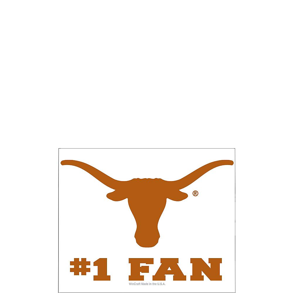 texas longhorns 1 fan decal 3in x 4in party city