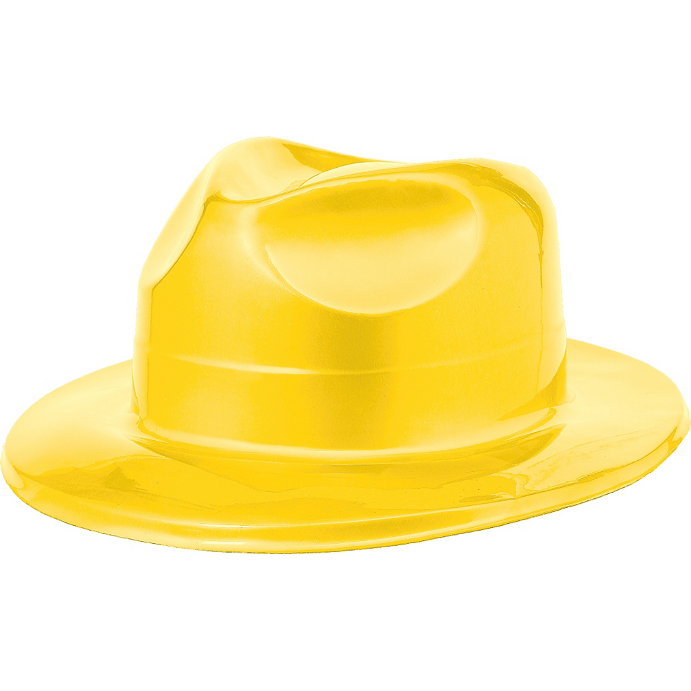 Nav Item for Yellow Plastic Fedora Image #1