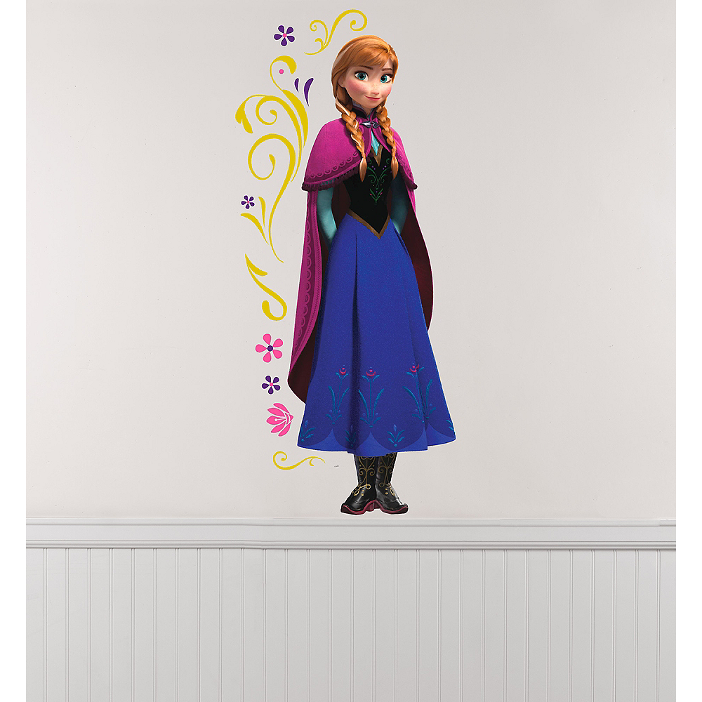 Anna Wall Decals 10ct - Frozen Image #1