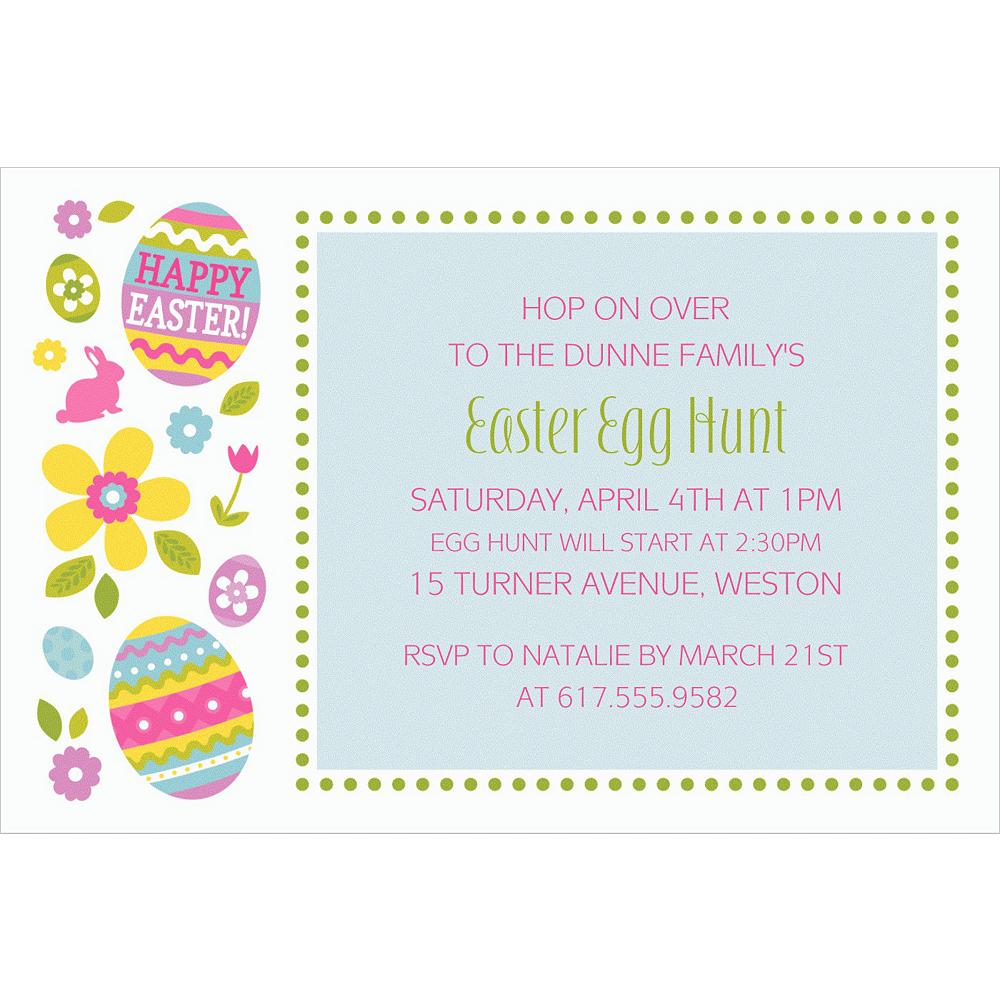 Custom Egg Hunt Invitations Image #1