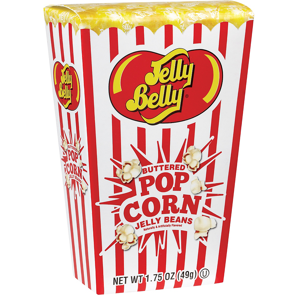 Jelly Belly Buttered Popcorn Jelly Beans 50pc Party City