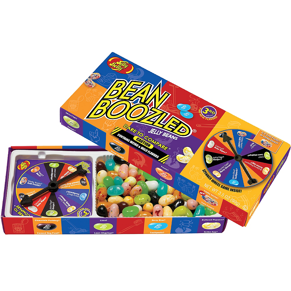 Jelly Belly Beanboozled Jelly Beans Spinner Game