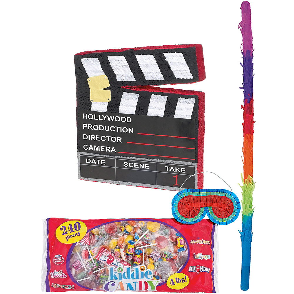 Movie Scene Marker Pinata Kit Image #1