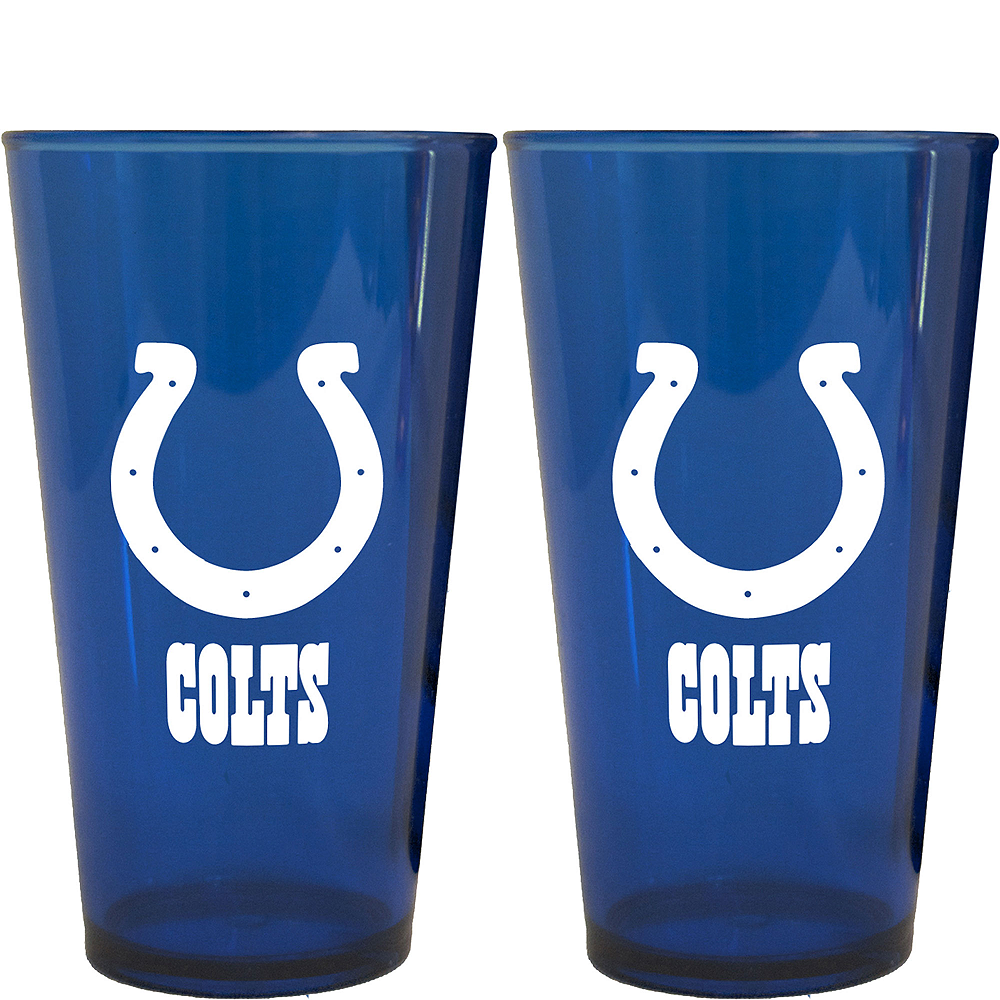 Nav Item for Indianapolis Colts Pint Cups 2ct Image #1