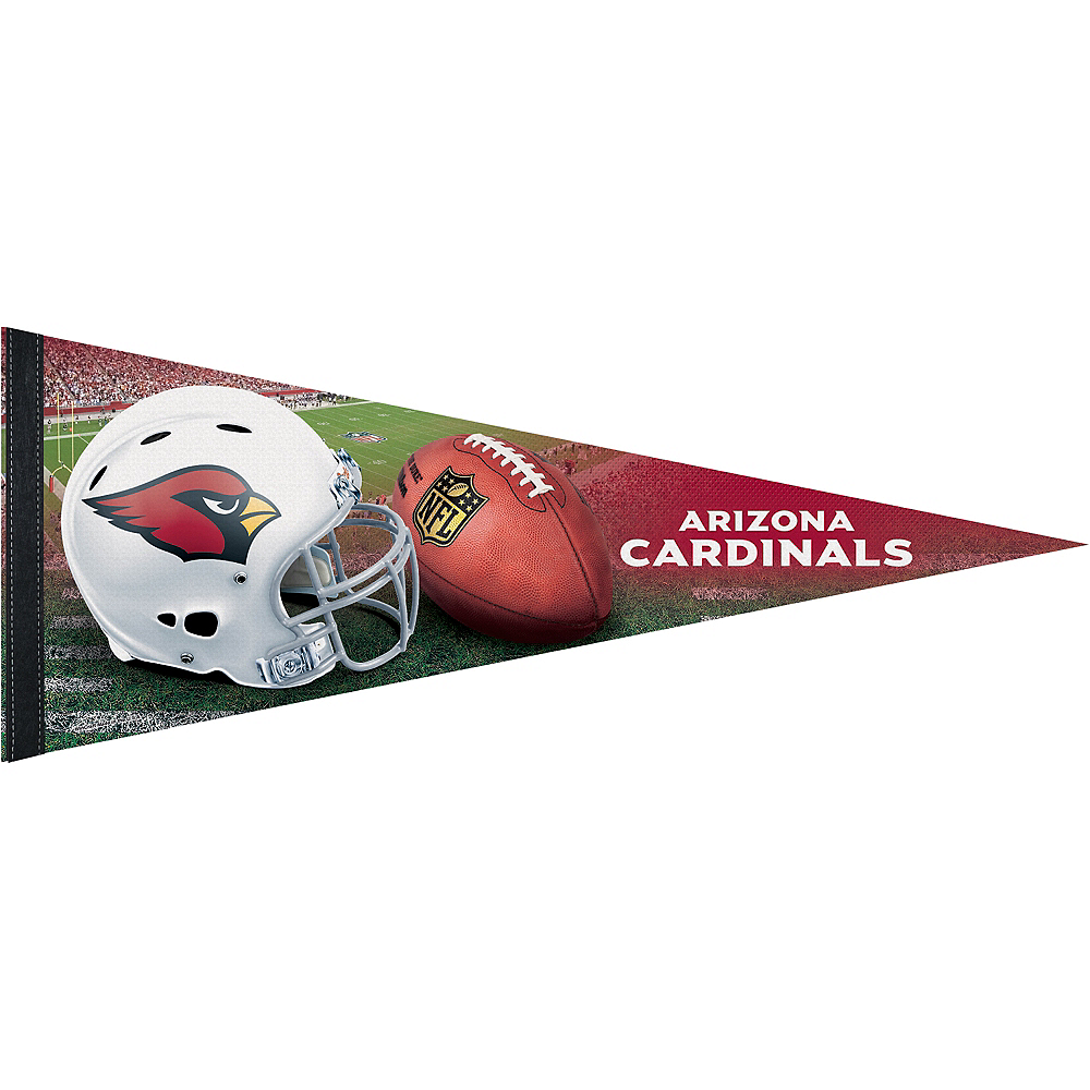 Premium Arizona Cardinals Pennant Flag Image #1