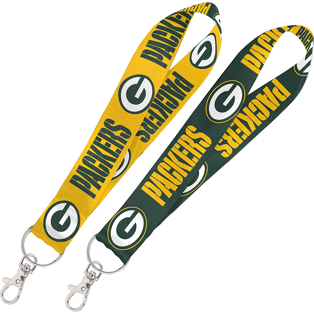 Green Bay Packers Key Strap Lanyard Image #1