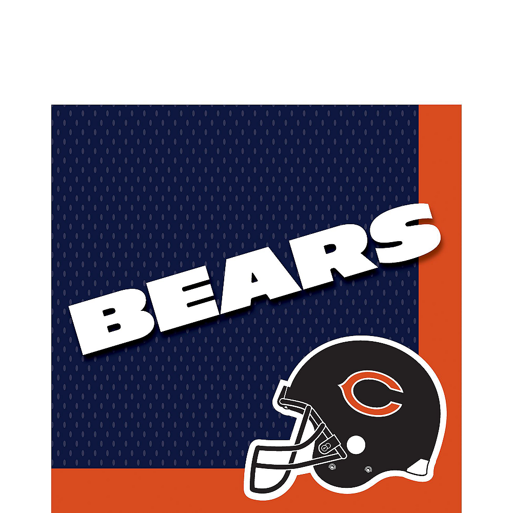 Super Chicago Bears Party Kit for 18 Guests Image #3