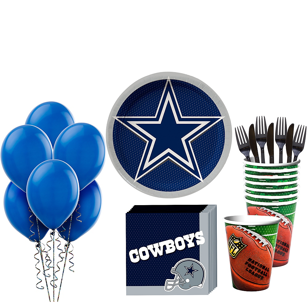 Super Dallas Cowboys Party Kit for 18 Guests Image #1
