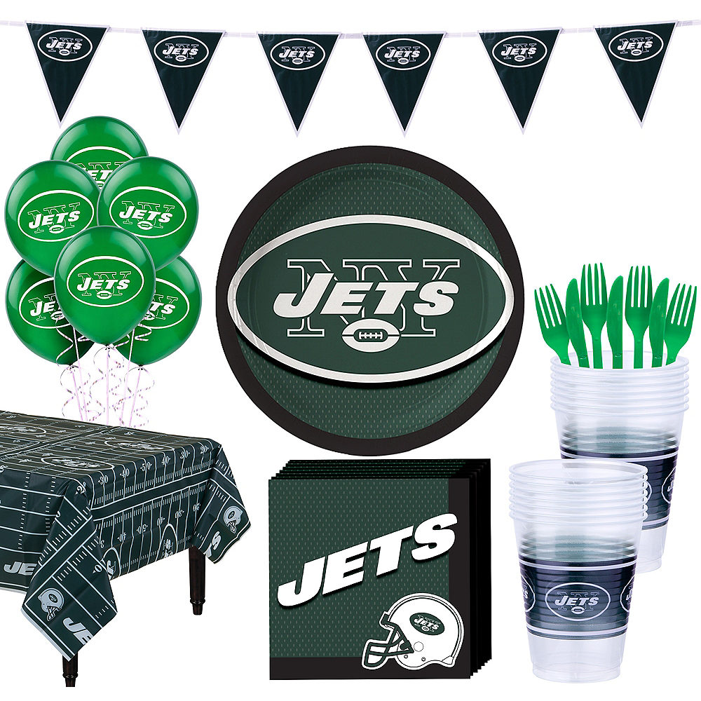 Super New York Jets Party Kit for 18 Guests Image #1