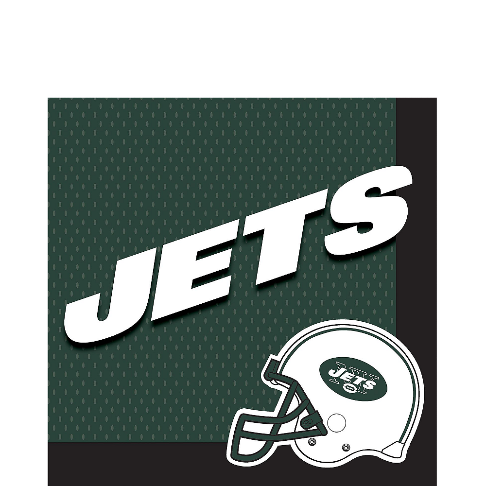 Super New York Jets Party Kit for 18 Guests Image #2