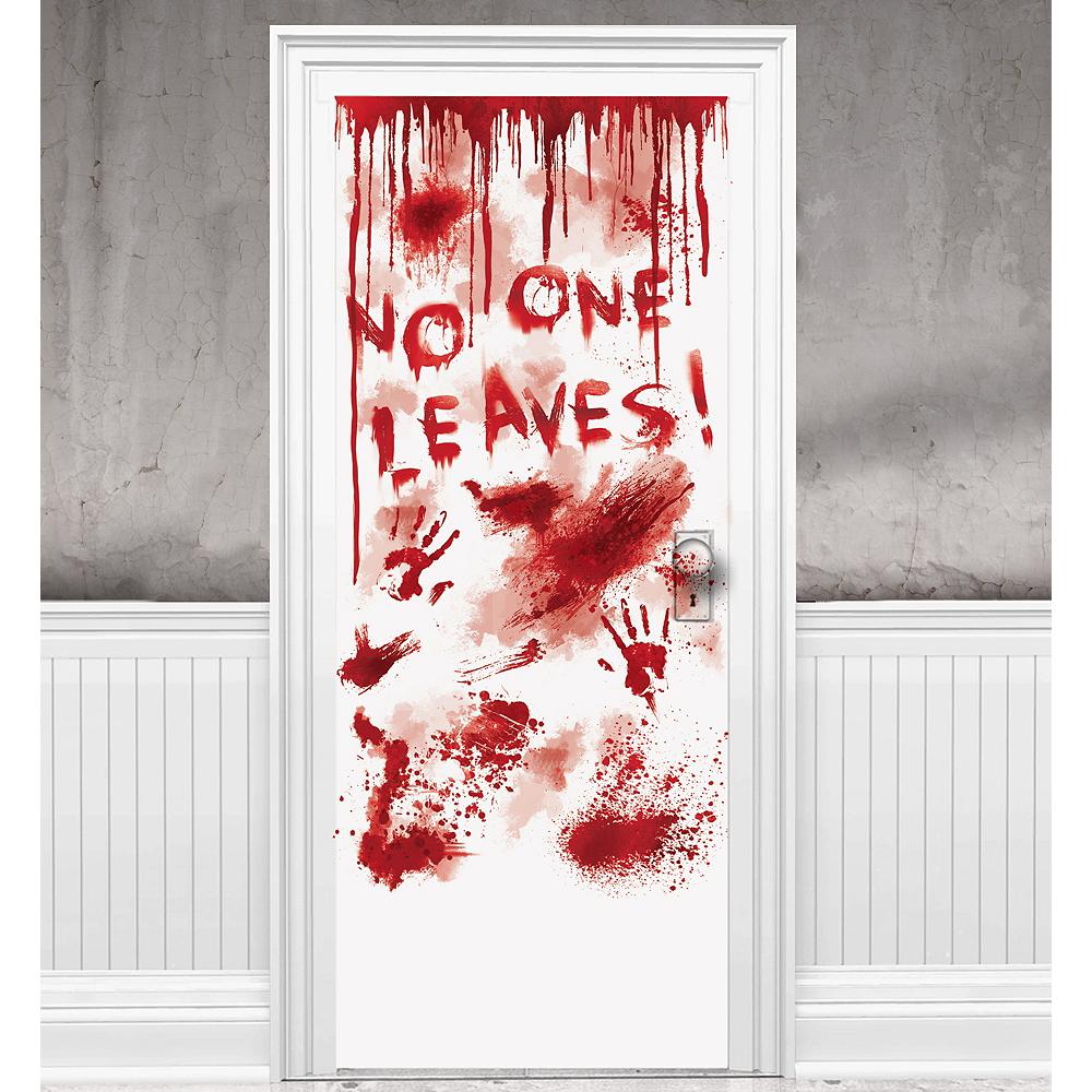 Dripping Blood Door Cover - Asylum Image #1