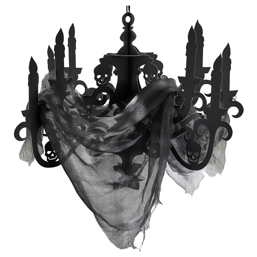 Black Paper Candelabra 23in X 16 1/4in
