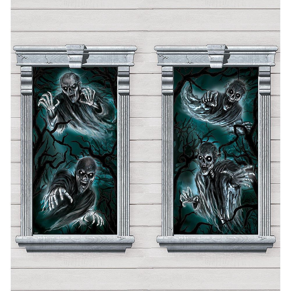 Haunted Forest Window Posters 2ct Image #1