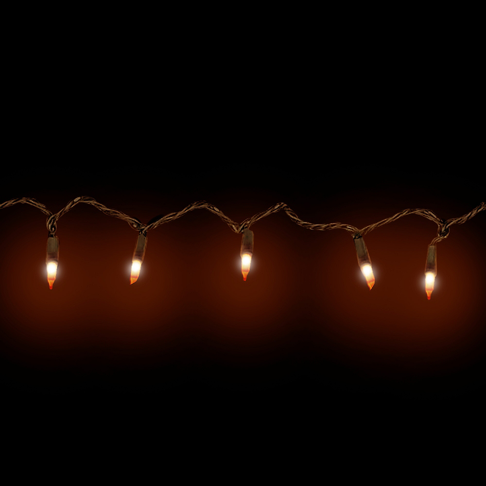 Orange LED String Lights Image #2