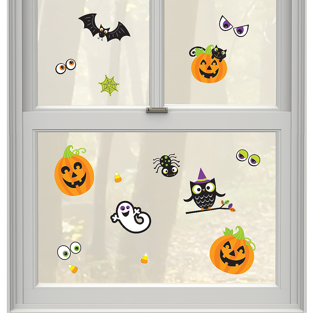 Friendly Halloween Cling Decals 15ct Image #1
