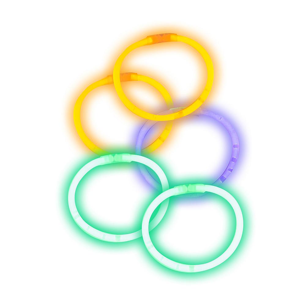 Halloween Glow Bracelets 5ct Image #1