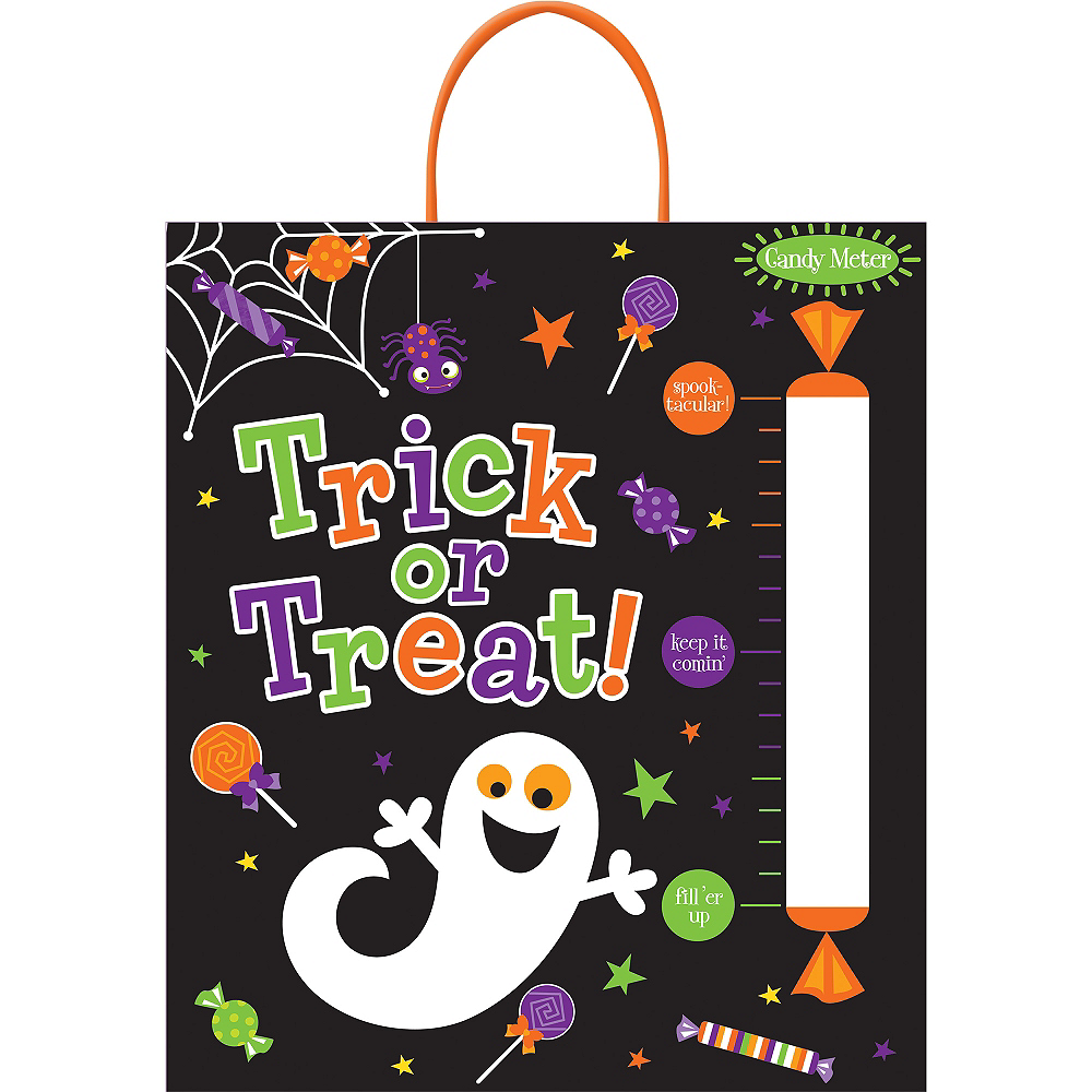 Candy Meter Trick or Treat Bag Image #1
